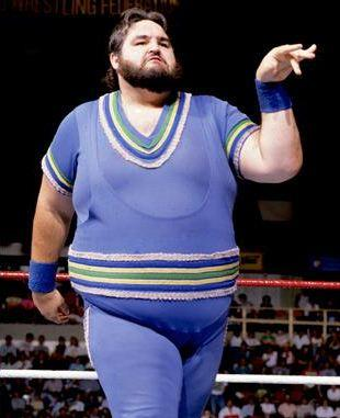 Which grossly overweight wrestler of the past was the best?