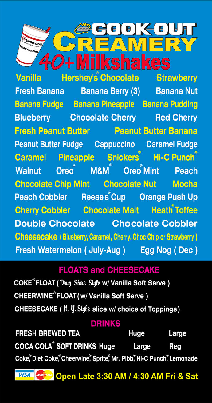 Which of these milkshake flavors sound appealing to you?
