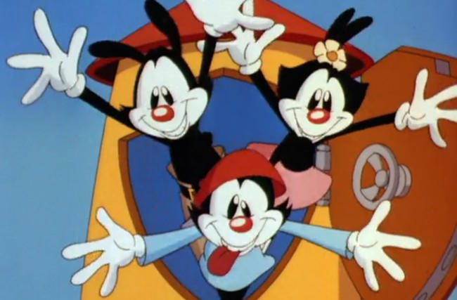 What did you think of the 90s cartoon Animaniacs?