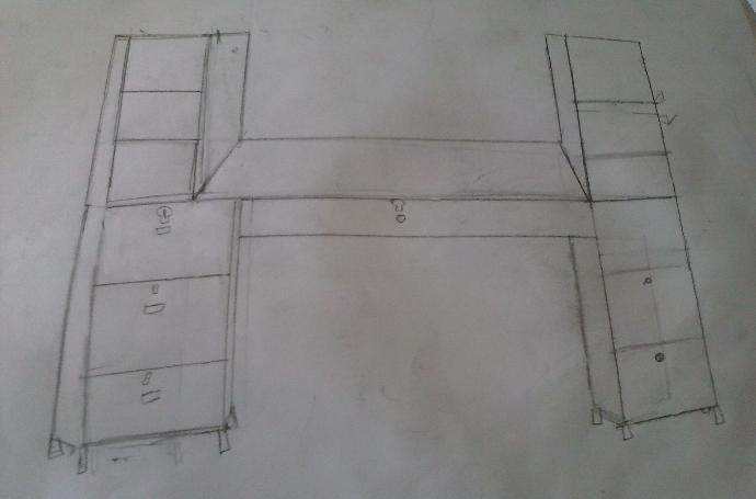 What do you think about the desk I'm going to build?