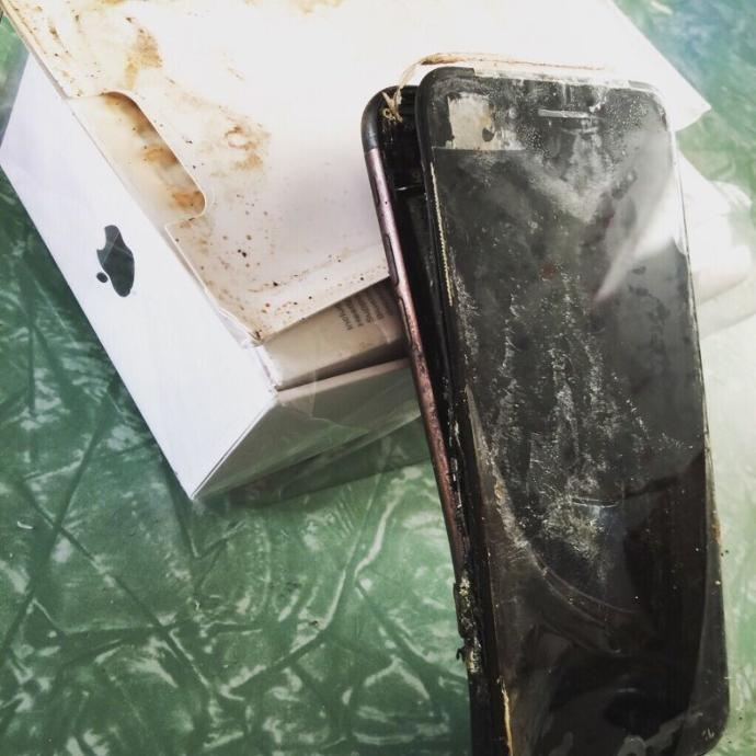 Now iPhone7s are exploding?