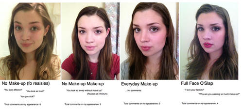 Why are SOME people so opposed to makeup if it makes people happy?