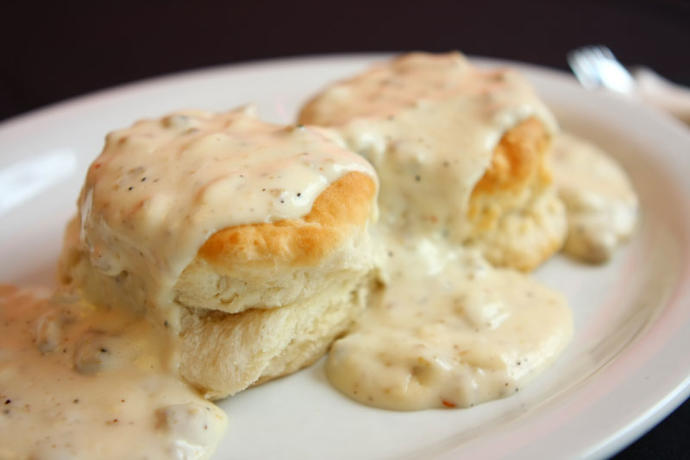 What do you think about biscuits & gravy?