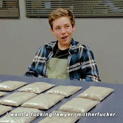 (FOR PEOPLE WHO WATCH SHAMELESS US) is Carl a bad boy?
