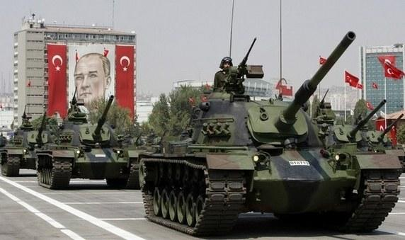 Who would win a war between Turkey and Australia?