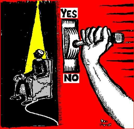 What do you think of the death penalty? Do you think it should end or stay??