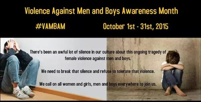 What do you think about the growing rate of domestic violence against men?