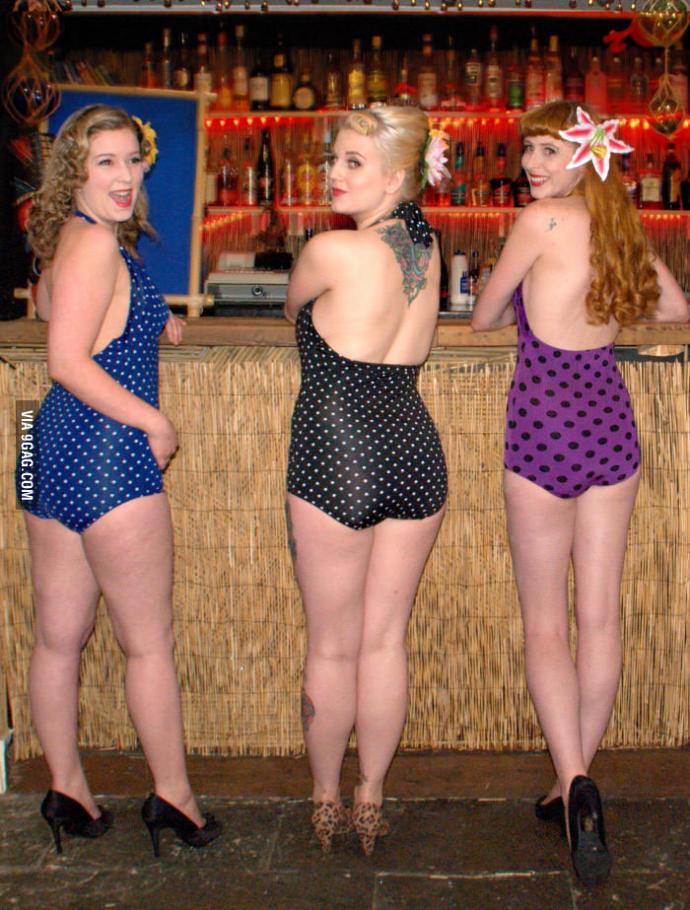 Anyone else like these retro swimsuits?