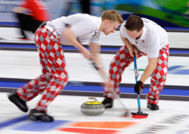 Isn't curling HILARIOUS?