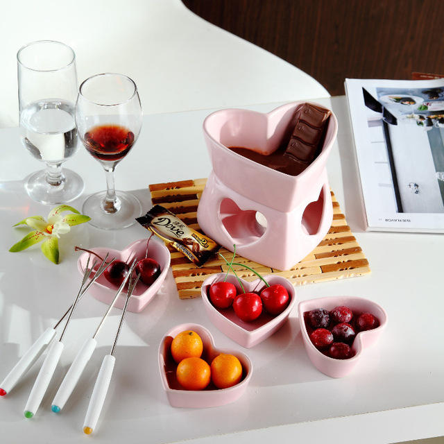 have you ever tried to make chocolate or cheese fondue at home?
