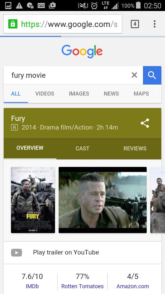 Has anybody seen the movie fury lol I just wanted to know why were their teeth so bad?