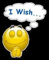 If you were granted just ONE wish: what would it be?