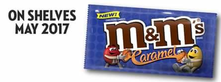 Caramel M&Ms are being released in May 2017, would you try them?