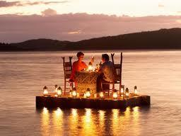 Ladies, What would you think if your man set up a romantic candlelit dinner? Guys would you do this for your lady?