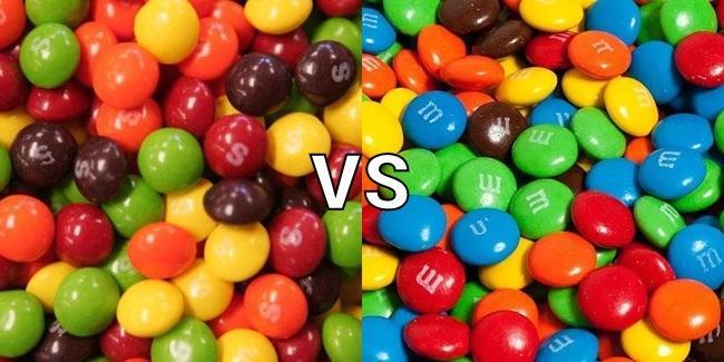M&M's or Skittles?