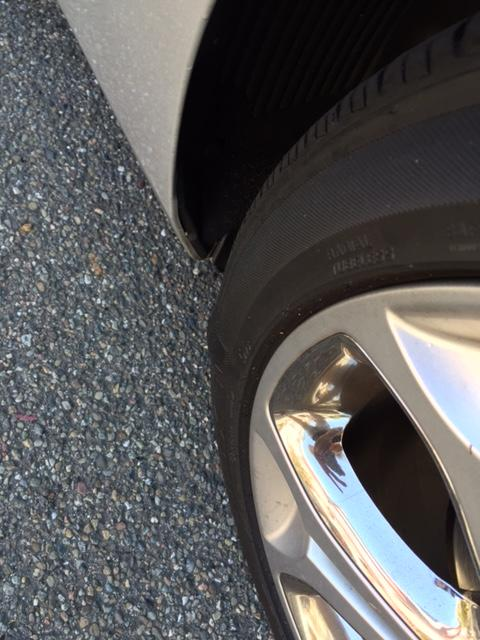 Anyone with automotive repair experience? Is this thing on my tire bad?