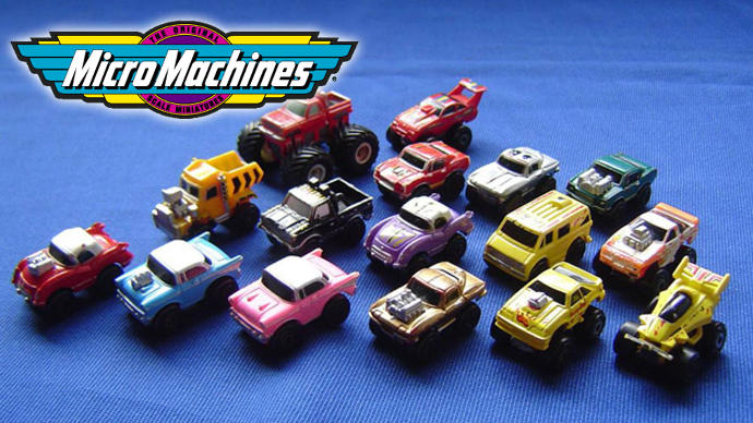Who here is old enough to remember Micro Machines?