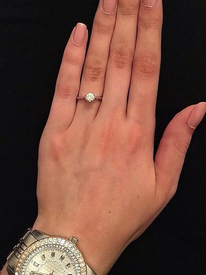 What does it mean if my boyfriend gives me a diamond ring for my birthday?