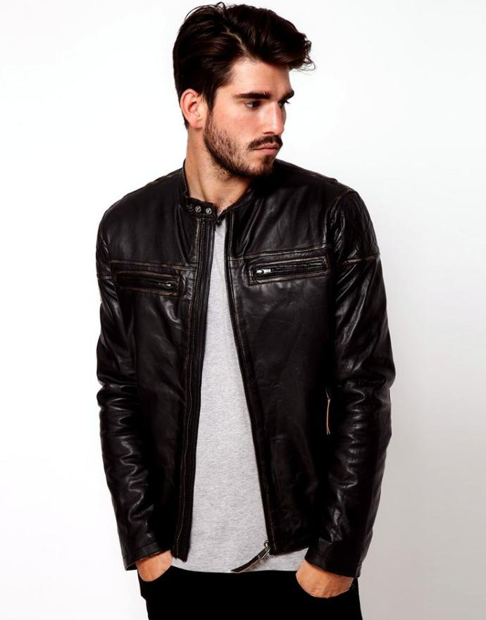 Girls! What do you think when you see a guy in a leather jacket?
