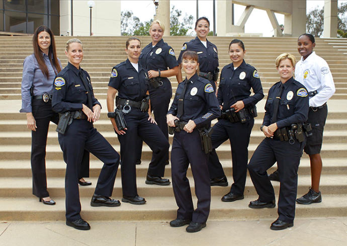 Would you date a chick that wants to be, or already is, a cop? Or is it too Intimidating?