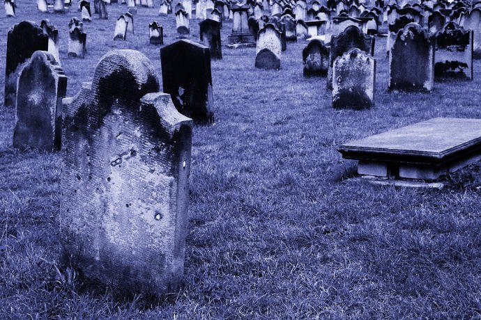 Would you dare to visit a Graveyard at night alone ?