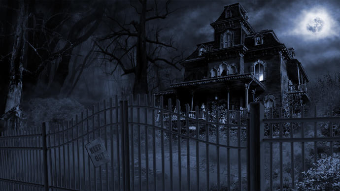 Has anyone ever been to a haunted house for a date night?