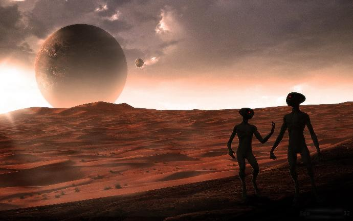 Do you believe alien life exists elsewhere in the universe?