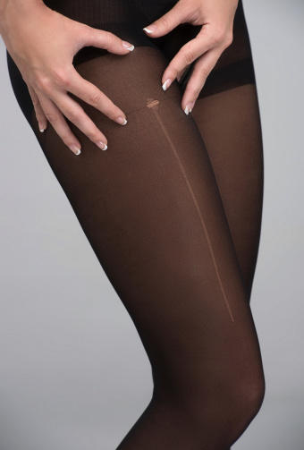 Girls, guys, do you agree that a small run in a pantyhose can sometimes be beautiful?