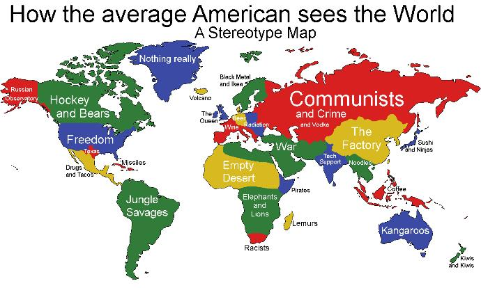 What national stereotypes do you know? Do you think they're true?