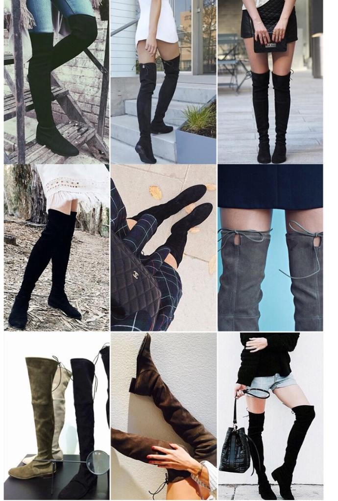 What do you think of knee high /thigh high socks and boots?