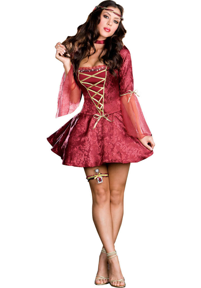 Would this be a cute Halloween costume for a party tonight?