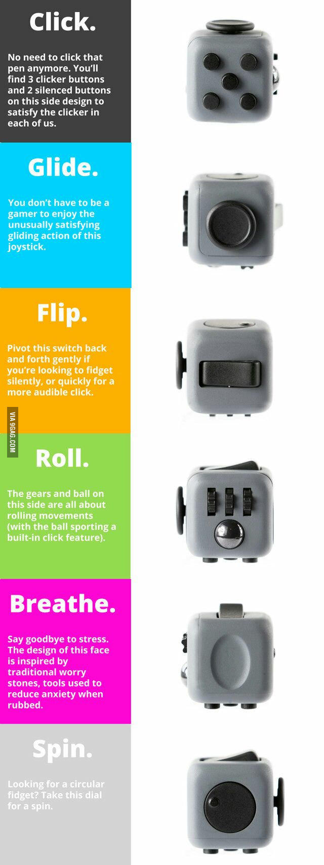 Would you buy the fidgety cube?