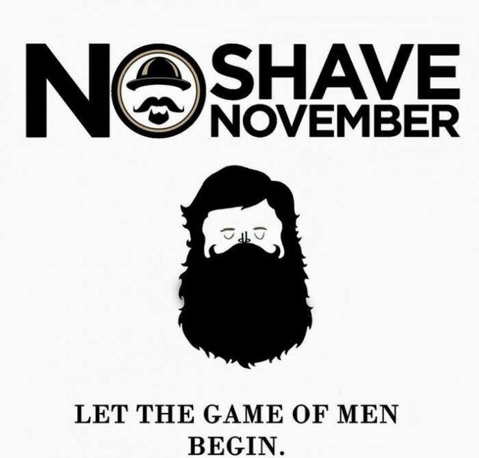 Guys, will you take part in No shave November?
