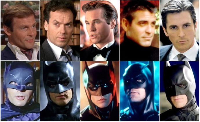 Which actor do you prefer playing the role of BATMAN?