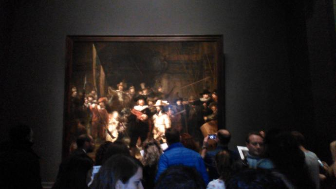 Finally had the chance to see the nightwatch of Rembrandt, which painting you wish to see?