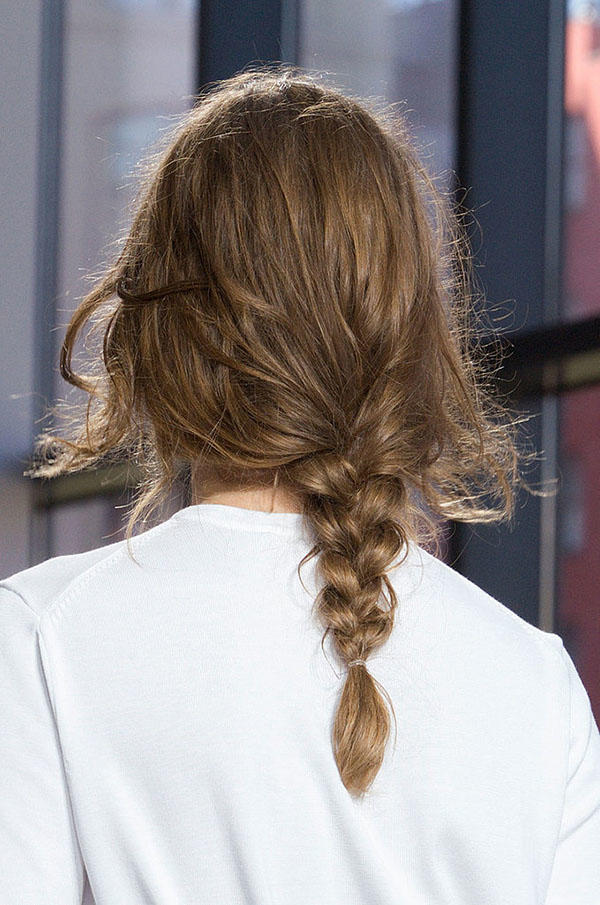 How long does my hair need to be to braid it?
