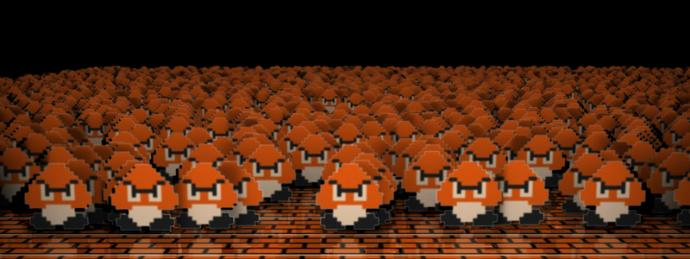 What would YOU do if your house was being invaded by an army of Goombas?