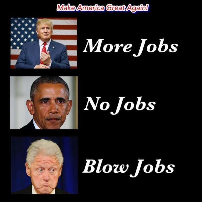 Make America great again??
