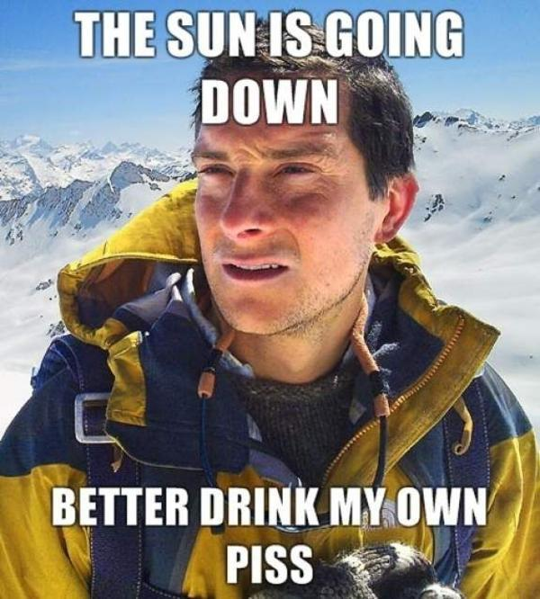 Have you ever drunk your own piss?