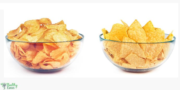 Which is the lesser of two evils? Tortilla Chips vs. Potato Chips 😯?