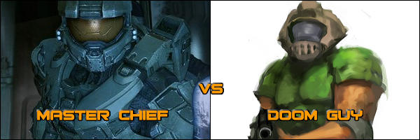 Just For Fun - Doom Guy vs. Master Chief?