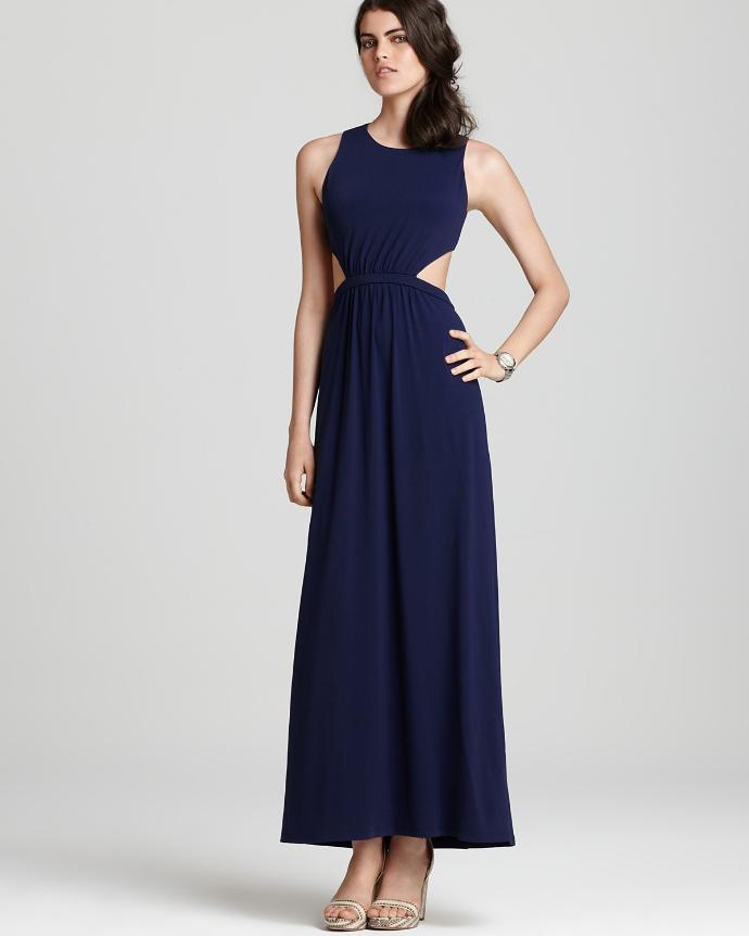 Is a dress with side cut outs okay to wear to a university house formal?