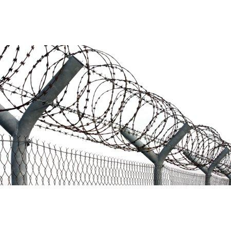 Is protecting property with razor wire racist?