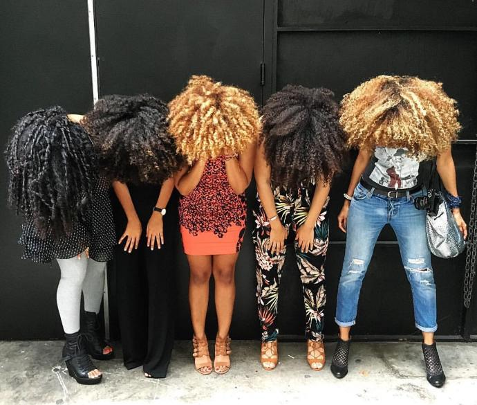 What do you think about natural hair on black women?