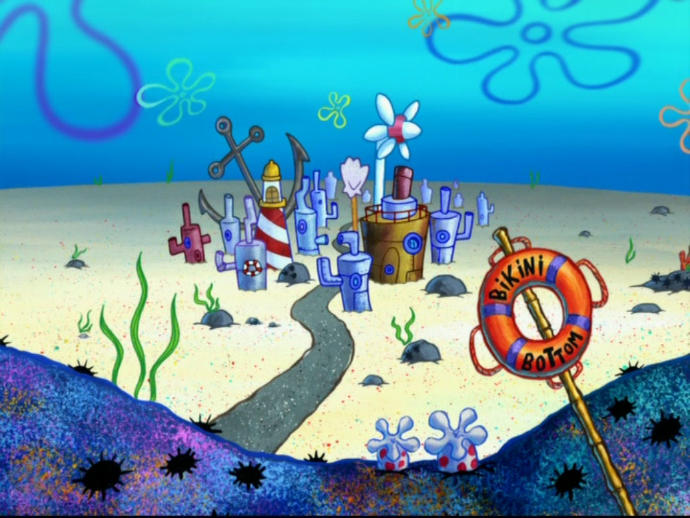 How would you react if you wake up and all of the suddenly realized you are living in Bikini Bottom/SpongeBob Universe?