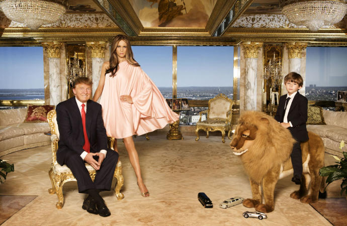 Would you pay money to clean Donald Trump's penthouse?