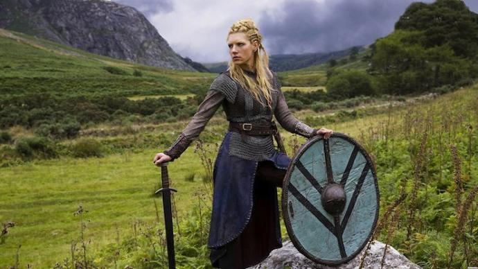 If the vikings were such a patriarchal society why did they have such a thing as shield maidens?