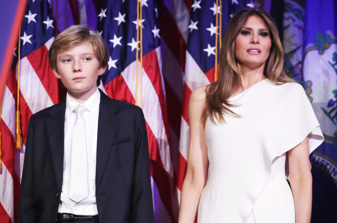 What you think about Melania and Barron Trump won't be moving to the White House? Could the tax payers money being paying for this special treatment?