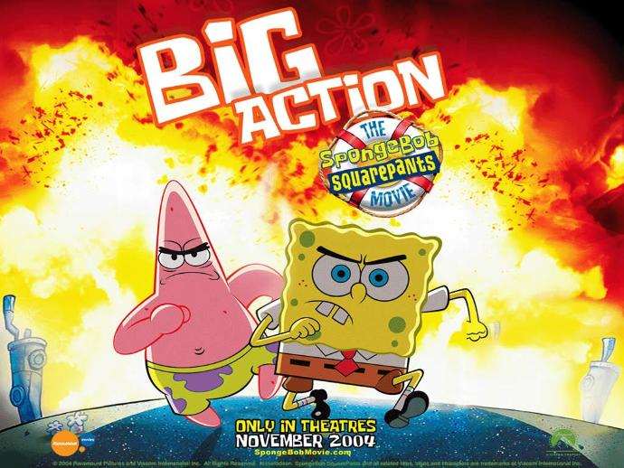 Which SpongeBob movie did you prefer more, the 2004 film or Sponge Out of Water?