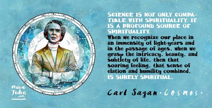 Do you agree with this quote by Carl Sagan?